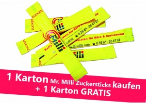 Mr. Milli Zuckersticks Karton